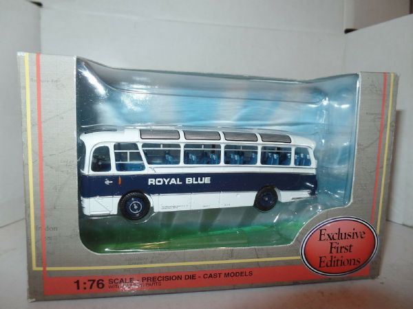 EFE 12118 Harrington  Cavalier Coach  Western National Royal Blue MIMB